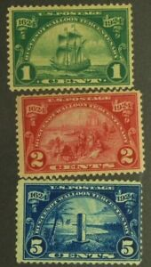 Stamps: SC#614-616 MLH IRST606
