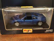 Maisto Special Edition #31904 1/24 Scale Ferrari 348TS Blue (1990) - Boxed