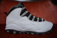 CLEAN Nike Air Jordan 10 Retro Gs White Steel 2013 X Nike Kid's 310806-103