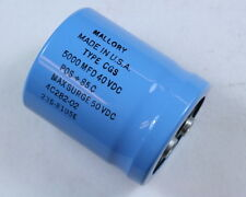 Capacitor Electrolytic Mfr:United Chemicon 53D502G050JP7 50V 5000UF One Unit