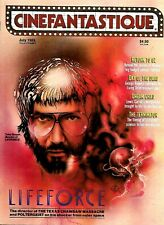 CINEFANTASTIQUE MAGAZINE LIFEFORCE DAY OF THE DEAD  EX CONDITION