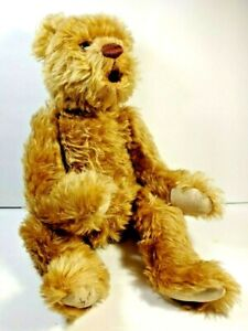 """Artist Linda Henry Lee Middleton Mohair Hush A Bear Weighted Plush Jointed 20"""""""