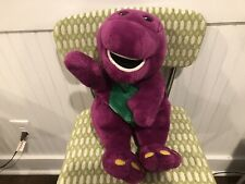 Barney The Dinosaur Puppet Please Read
