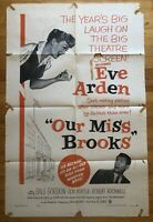 Our Miss Brooks (1955) 1 Sheet Movie Poster 27x41 Eve Arden