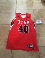 Under Armour Women's Utah Utes #40 Armourfuse Basketball Jersey Sz. Medium NEW