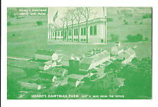 Old Advertising Postcard Hoard's Dairyman Office & Plant Fort Atkinson Wisconsin