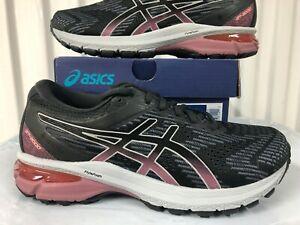Womens Asics GT 2000 GTX Gore-Tex WATERPROOF Black Grey Plum sz 6 Running Shoes