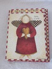 New Debbie Mumm Set Of 10 Angel Note Cards