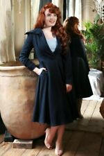 Collectif Vintage | Bobbie Swing Coat | Navy | BNWOT | M | UK 12