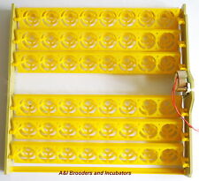 48 Chicken Quail Automatic Egg Turning Tray with 110Volt Ac Usa 1/240rpm New !