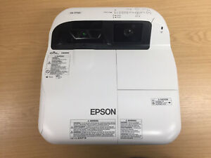 Epson EB-575Wi WXGA HDMI LCD Projector (w/ Remote/Cables Bundle) 1255 Lamp Hours