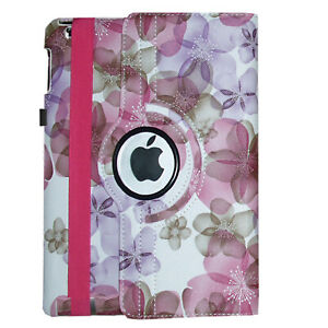 """For iPad 10.2"""" 7th / 8th Generation 360 Rotating Leather Smart Stand Case Cover"""