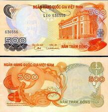 VIETNAM del SUD- Vietnam South 500 dong 1970 FDS - UNC