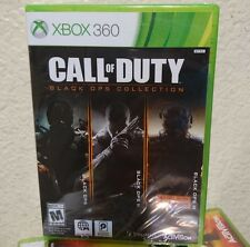 NEW Call of Duty: Black Ops Collection  Xbox 360, BLACK OPS TRILOGY w/zombies