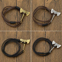 1 Pc Slavic Axe Pendant Bracelet Viking Amulet Magic Multilayer Bangle Jewelry