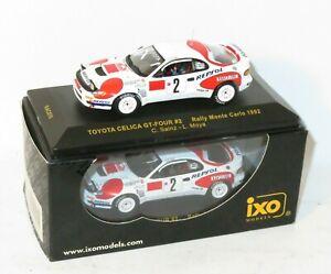 1/43 Toyota Celica GT-Four Repsol  Rally Monte Carlo 1992 #2  C.Sainz / L.Moya