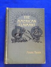 THE AMERICAN CLAIMANT - FIRST EDITION BY MARK TWAIN