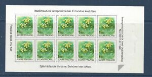 FINLAND - 845 - COMP BKLET - S/A - 1999 - FLOWERS - COWSLIP