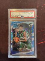 2017-18 Donruss Optic Fast Break Holo #198 Jayson Tatum Celtics RC Rookie PSA 8