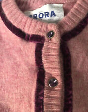 Brora Girls Age 3-4 100% Cashmere Cardigan, Pink LIMITED EDITION Selling Others!