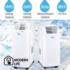 6000btu Portable Air Conditioner Dehumidifier Humidifier Unit 3 Speed Fan Cooler