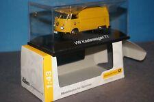 RF33] SCHUCO 010494 VW T1 Transporter PTT Edition Deutsche Post 1/43 OVP