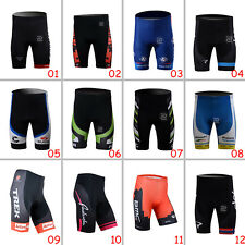 Hot Sale Mens Outdoor Sports Bike Team Cycling Shorts Padded Lycra Pants Tights