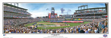 Colorado Rockies OPENING DAY AT COORS FIELD Panoramic Poster Print by Rob Arra
