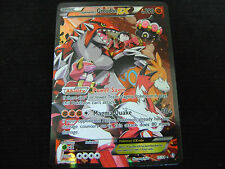 Pokemon Card TEAM MAGMAS GROUDON EX FULL ART 15/34 DOUBLE CRISIS ULTRA RARE HOLO
