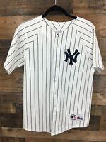 MLB Genuine Majestic NY Yankees # 51 Bernie Williams Jersey Size Boys XL