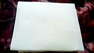"""White 12 Count Duo Double Tapestry Canvas 76 cms by 59 cms (30"""" x 23"""" )"""