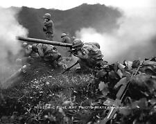 KOREAN WAR PHOTO US MARINES BATTLE OF THE NOTCH USMC 1950 8x10 #21838