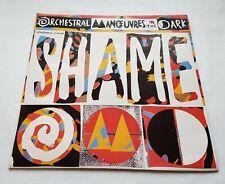 """Orchestral Manoeuvres In The Dark - Shame 12"""" Vinyl Record Single VS 93812 OMD"""