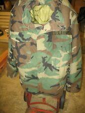 Authentic Military M65 US Army Medium Unisex Field Jacket Upland Camo W/ Liner