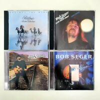 Bob Seger & The Silver Bullet Band - Lot of 4 CDs - Greatest - Night Moves -Wind