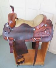 "Used 15.5"" Billy Cook Cutter, Cutting Ranch Saddle"