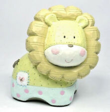 Baby Boy Girl Cute Lion Money Box KEEPSAKE Christening Birth Gift