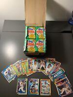 1990 Topps Baseball Wax Box 36 Packs + Extra Thomas, Griffey, Sosa *See Photos*