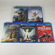 Sony PS4 Games *USED* You Pick & Choose Video Game Popular Titles *Tested*
