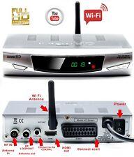 Freeview HD Built in WiFi Receiver & Recorder DIGITAL TV Set Top Box Terrestrial