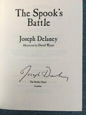 Joseph Delaney Spook's Books 1st/1st signed