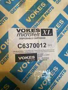VOKES  MICROFELT XL C6370012 Oil LUBE Filter Element OEM P1562