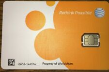 At&T Nano sim card ready to activate. att sim replacement full nano size card