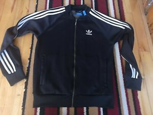 Adidas Trefoil Tracksuit Top Jacket Small Mens Top