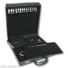 Salesman Jewelry Case Jewelry Travel Case with Lock Salesmen Travel Jewelry Case