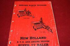 New Holland 77 Baler Dealer's Parts Book Manual WPNH