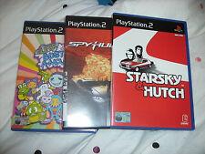 PLAYSTATION 2 Games SPYHUNTER STARSKY E HUTCH SUPER BUST A MOVE 2