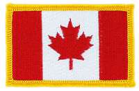 FLAG PATCH PATCHES CANADA CANADIAN IRON ON COUNTRY EMBROIDERED WORLD FLAG