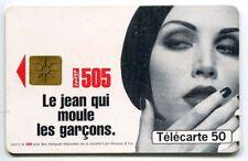 TELECARTE 50 LE JEAN QUI MOULE LEVIS 505
