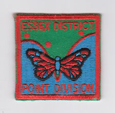 SCOUT OF CANADA - CANADIAN SCOUTS ONTARIO POINT DIVISION ESSEX DISTRICT Patch